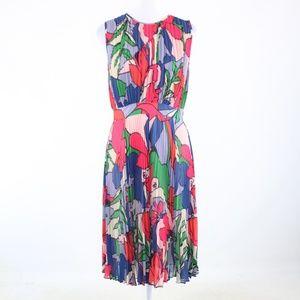 Catherine Malandrino multicolor floral dress 6